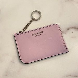KATE SPADE Cameron L-Zip Card Holder Key Chain